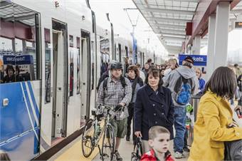 The Airport TRAX, which has six stations, is now on full schedule, with trains from downtown to the airport running every 15 minutes on weekdays.