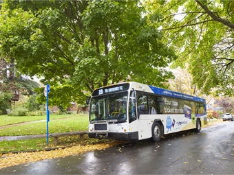 TriMet is currently in the process of receiving 57 new Gillig 40-foot buses, which are being acquired as part of a 2013 contract to augment the fleet.