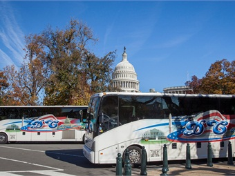 DC Trails provides charter, sightseeing, line run, university athletic and local shuttle services throughout the U.S., with a focus on the east coast.