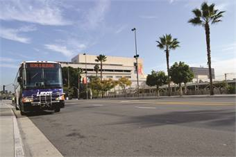 In December, LADOT unveiled its new MCI Commuter Coaches, which are propelled by CNG. The last of the 95 units were set to be delivered by the end of January.