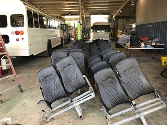 Infanti provides complete interior refurbishment of buses and coaches.