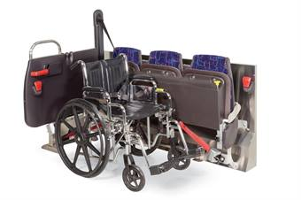 American Seating's Reliant is available with either barrier or flip-up options to maintain current seating capacities.