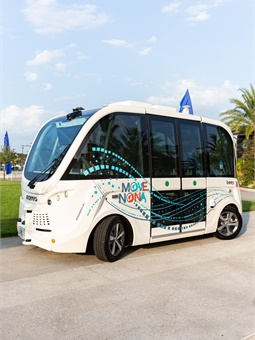 In Lake Nona, Fla., a planned community is using autonomous shuttles to ease the transit of residents and visitors.Beep