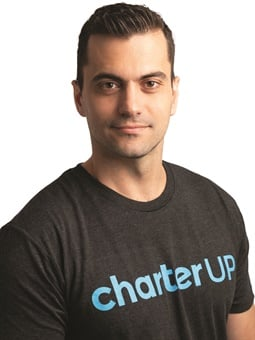 Armir Harris, founder and CEO of CharterUP, says the end goal of his product is to help operators keep their buses and drivers busy and their clients happy.