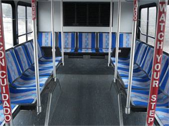 LaFrance has supported Athens Area Transit by providing upholstery for the seat insert replacement program and new bus purchases.