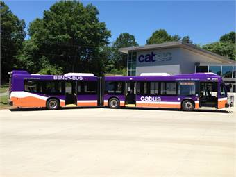The CAT and LaFrance partnership has worked to improve the community they share by making public transportation both more accessible and enjoyable.