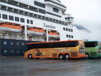 Royal Highway Tours, owned by Princess Cruises and Holland America Tours, took the seventh spot in our list this year, with 327 buses and coaches.