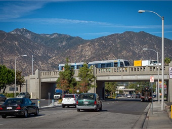 L.A. Metro's Gold Line, a project using Measure R funds, is set to open in March. Courtesy LA Metro