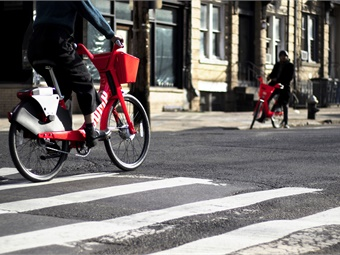 The average trip for a JUMP electric bike in DC is three miles, about twice the distance of the average trip on a traditional bikeshare. JUMP