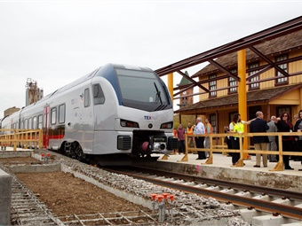 Once completed, Fort Worth Transportation Authority's $1 billion TEXRail service will transport passengers to DFW Airport. All photos courtesy FWTA