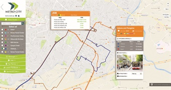 ETA's SPOT ITS solution provides bus info via websites and/or apps.