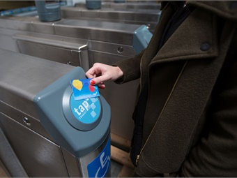 L.A. Metro's TAP card system integrates with 23 partner agencies.