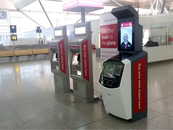 Cubic's NextAgent technology is being tested at Stansted Airport in London, U.K. (pictured).