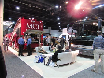 Temsa and CH Bus Sales officials were on hand to showcase changes to the newly revamped Temsa TS 35E motorcoach.