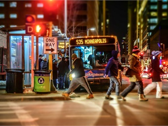 """Create signage across the transit system stating that """"Assaulting Bus Drivers is a serious crime, which will not be tolerated."""" Metro Transit"""