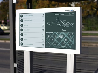 Solar power is increasing the possibility of outdoor digital signage, and companies like CHK America are working to implement interactive technology at bus stops and shelters.
