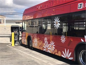 Long Beach Transit is looking to phase out its diesel bus fleet, looking at 2020 as the year it will be 100% alternatively-propelled, with a mix of CNG and battery-electric buses. Long Beach Transit