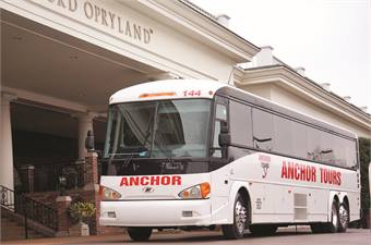 2012 year-end charter sales revenue was the highest ever for Anchor Tours, due to tracking quotes and extra client face time.