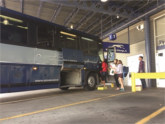 Greyhound is vigorously protecting its passenger base while becoming quite adept at using its own technology to optimize its seat inventory. Greyhound