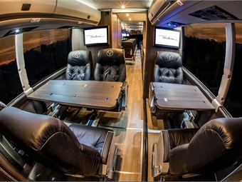 Recently, bus lines, such as Vonlane, have added a touch of luxury to their services.