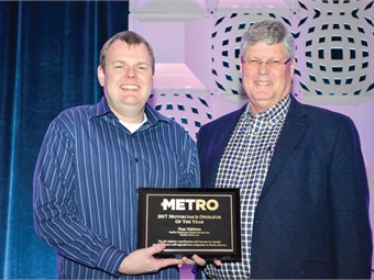 In February, Michael and Tom Giddens received METRO's Motorcoach Operator of the Year award at UMA's Expo.