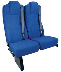 Freedman's 3-PTA offers adjustable shoulder belts that allow the passenger to alter the height.
