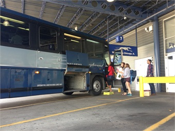 Rather than concentrating on new routes in 2015, Greyhound worked to improve their image and perception, starting with a revamped website.