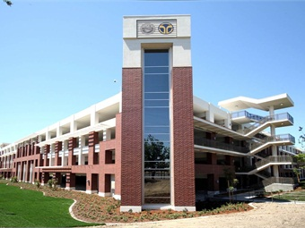 The parking structure at Cosumnes River College.