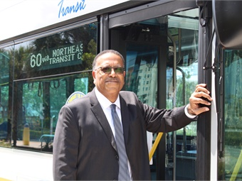 """Thanks to the passage of a ballot measure to fund public transit in 2018, Director of Transportation Chris Walton says the agency is on pace to build a """"world class"""" transportation system."""