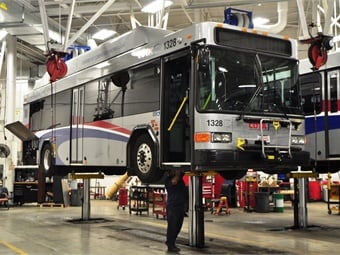 2016 Bus Maintenance Survey Shops Still Dealing With