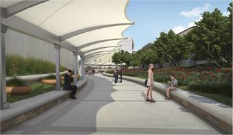 When the DFW Airport Station opens, riders will only need to walk about 300 feet from the station to Terminal A, making it convenient for people traveling to and from the Dallas/Fort Worth area and those who work at or near the airport.