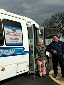 "The so-called ""Silver Tsunami"" has resulted in a 14% increase in ridership on Laketran's Dial-A-Ride service over the last three years."