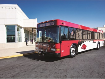 As the agency continues to renew its fleet, it recently donated one of its older Gillig buses to NWTI.