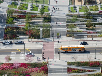 L.A. Metro adopted a Climate Action Plan in 2012 that seeks to continually lower greenhouse gas emissions, which led to the exploration of electric buses.