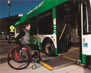 Through travel training or a transit system orientation, many people with disabilities or older adults may be able to use fixed-route bus or rail systems.