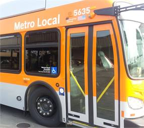 Vapor is supplying its high-performance door actuation equipment on 550 Los Angeles County Metropolitan Transportation Authority buses.