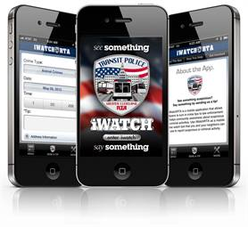 GCRTA's iWatch app is a safety tool that lets customers anonymously report crimes and complaints.