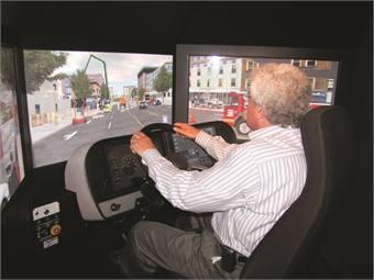Using Driver Training Simulators To Enhance Coach Safety Motorcoach Metro Magazine