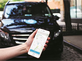 While mobile apps are a key tool for riders to book trips on microtransit services, programs often also enable users without smartphones to call to make a reservation. Photos courtesy Via