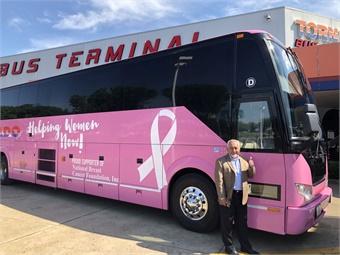 Juan Vazquez says he operates Tornado Bus as a business entity that regards each employee as a family member. Tornado Bus Company