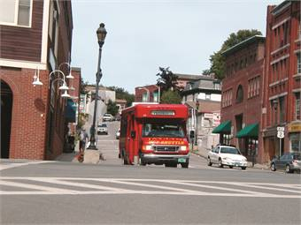 One of the major drawbacks that St. Johnsbury, Vt.-based Rural Community Transportation Inc. faces is the fact that is has a two-hour headway between point A and point B. The agency is working on a long-term transportation plan, which could increase the number of routes, their frequency and the length of service days.