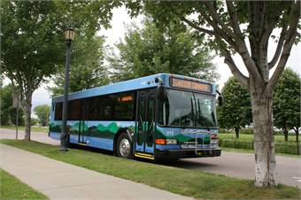 CCTA serves eight of Vermont's 14 counties, with ridership on its Link Express commuter services growing at a rapid rate.