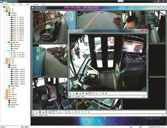 vMax Commander lets transit operators see the status of surveillance cameras, the history of the health of the camera system, and search for and manage archives.