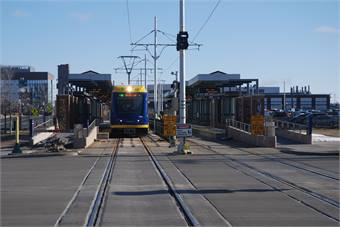 Minneapolis' Metro Transit was set to open its $957 million Green Line in June.