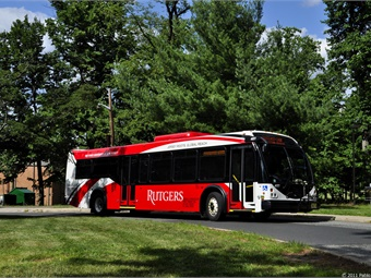 First Transit is the number one provider for university and college transportation solutions with 30 contracts at schools including Rutgers University.