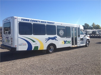 National Express began working with Ariz.-based Yuma County Area Transit in 2014, with a goal to boost ridership by improving safety and maintenance conditions. National Express