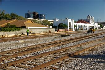 The Florida Hospital rail station is one of 12 stations planned for the first phase of the rail line, which has spurred a $250 million investment in a 176-acre Health Village.