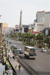 Keolis America is partnering with Regional Transportation Commission of Southern Nevada to provide bus service in Las Vegas' resort corridor. The fleet includes double-deck buses manufactured by Alexander Dennis.