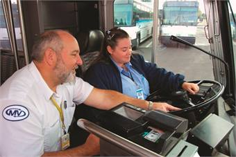 Dallas-based MV Transportation employs more than 16,000 dedicated transit professionals. The contractor sustained growth of more than 30% in the first quarter of 2012.