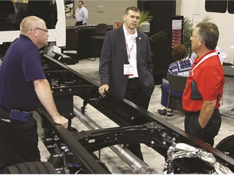 Once again, BusCon gives buyers the opportunity to talk to sellers one-on-one of the show floor.